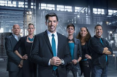 Drew Scott and his team for Brother vs Brother