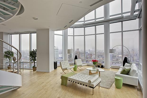 web_OPENER? Chelsea Penthouse. Living Room