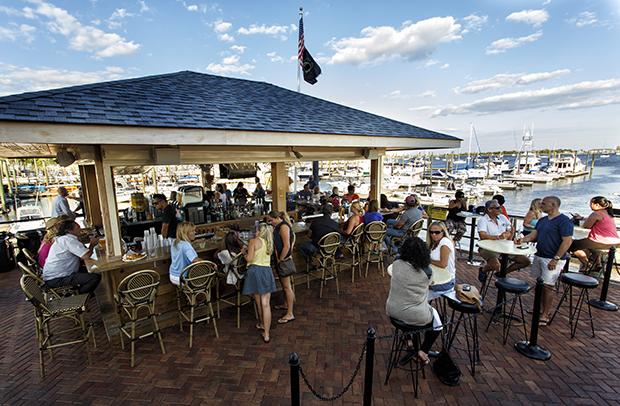 Marina Cafe Tiki Bar Menu