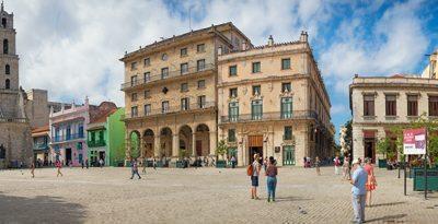San Francisco Square in Old Havana