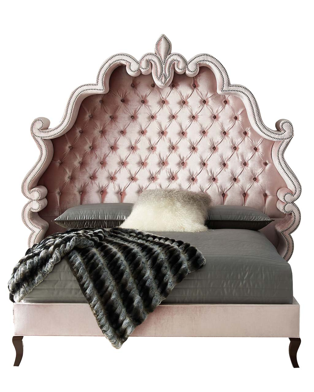 Haute House Maria Tufted King Bed_1