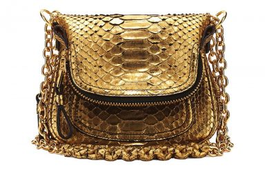 TOM FORD Jennifer Mini Python Shoulder Bag_1