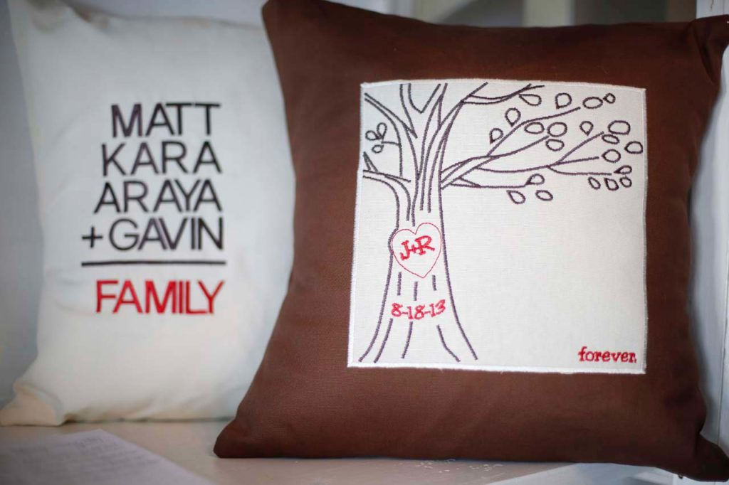 Carve your love pillow