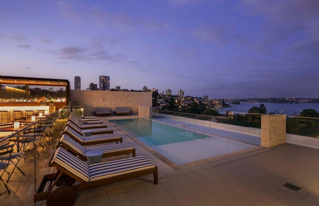 Intercontinental Sydney Double Bay-Rooftop-Pool-1