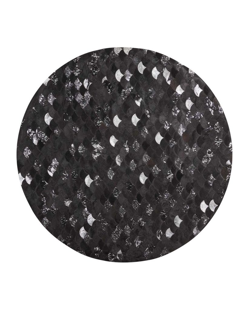 Costello Hairhide Round Rug