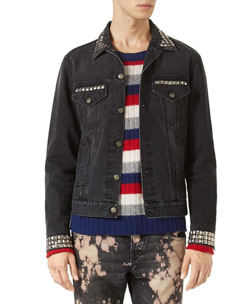 Gucci Denim Jacket w_Embroideries