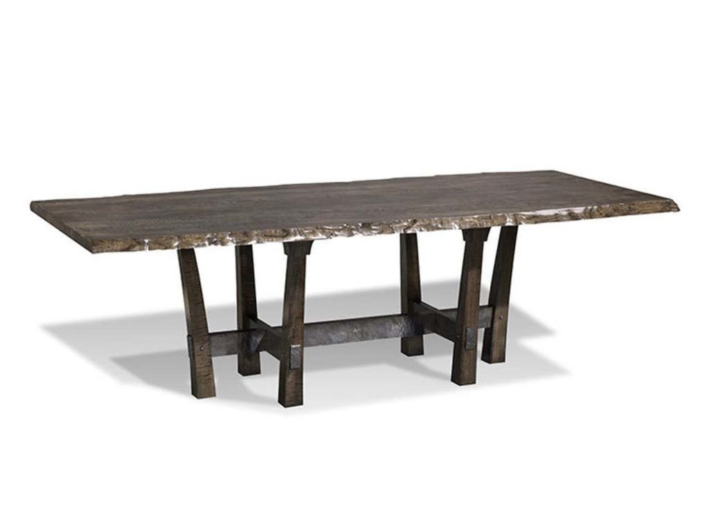 Harden Furniture Rio Iron Base Dining Table
