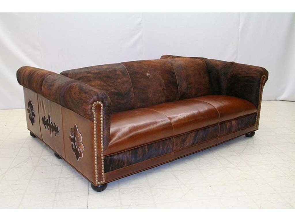 Old Hickory Tannery Back to Back Sofa