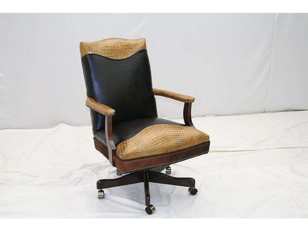 Old Hickory Tannery Desk Chair