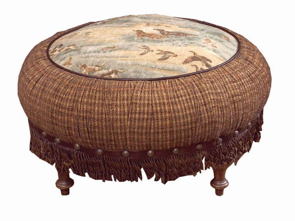 Old Hickory Tannery Living Ottoman_1