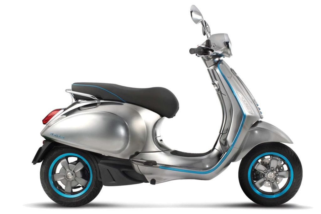 Vespa Elettrica Electric Scooter_1