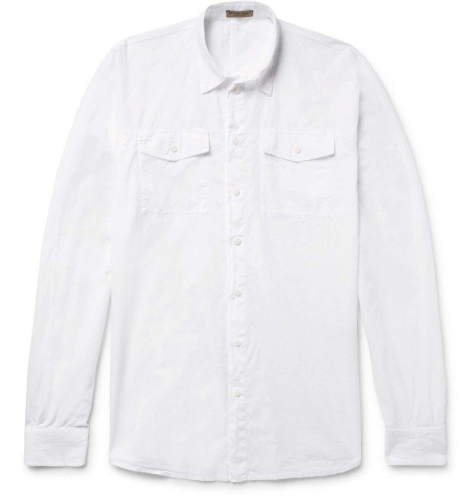 Bottega Veneta Cotton-Voile Shirt