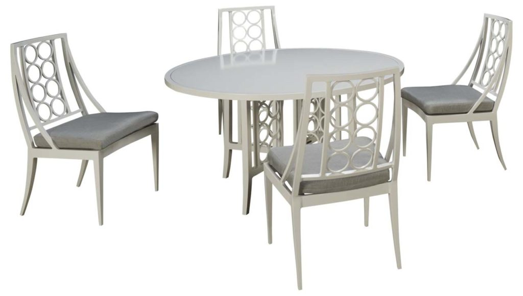 Brown Jordan Luna Outdoor Dining Set