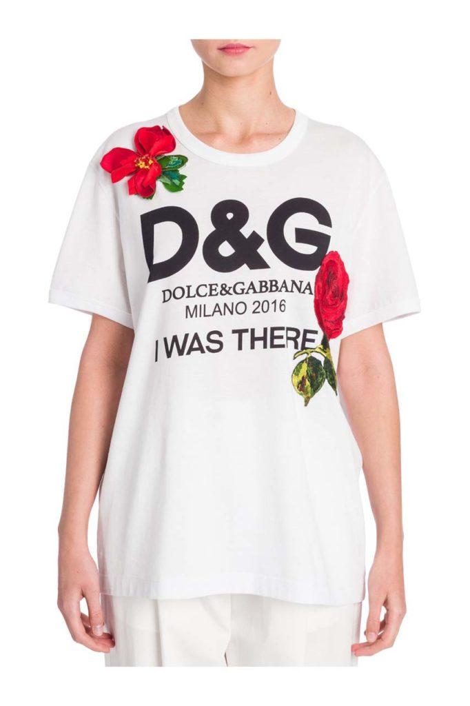 Dolce & Gabbana Cotton Logo Tee