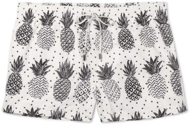 Dolce & Gabbana Slim-Fit Mid-Length Pineapple-Print Swim Shorts