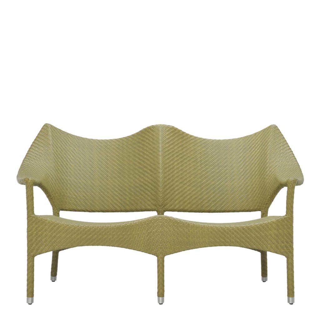 Janus et Cie Amari Rattan Two-Seat Sofa_1