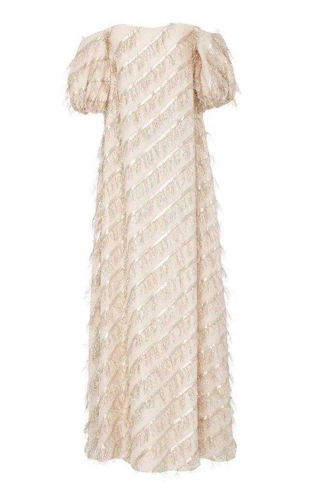 Markarian Marie Fringe Gown