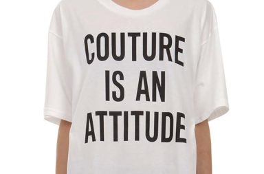 Moschino Capsule Couture Attitude Cotton Tee