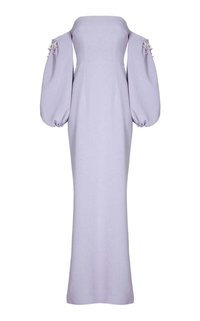 Safiyaa Jade Off-The-Shoulder Puff Sleeve Dress_1