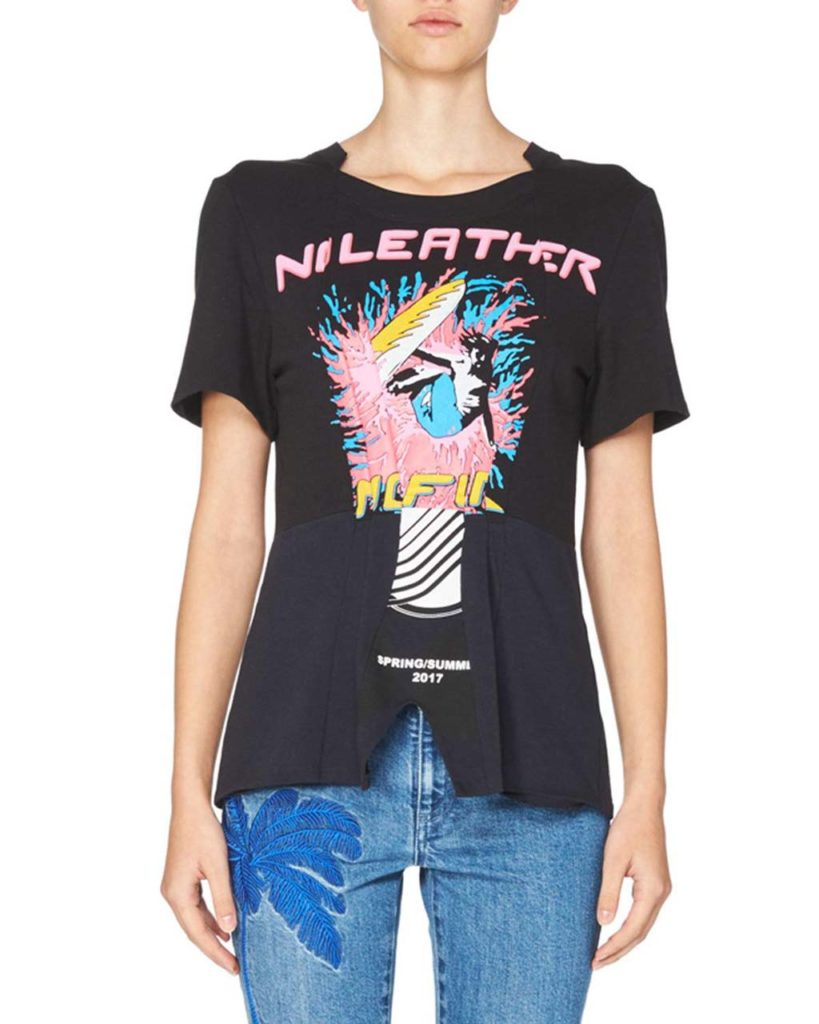 Stella McCartney No Leather Graphic Tee