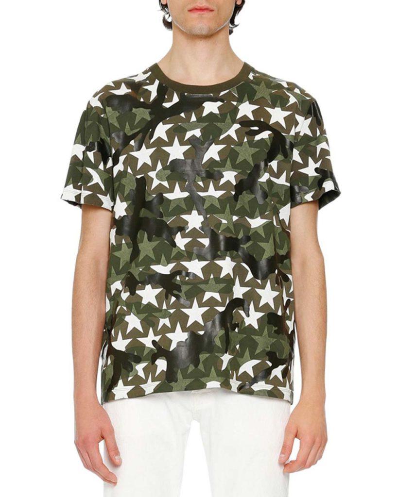 Valentino Camustars Printed T-Shirt