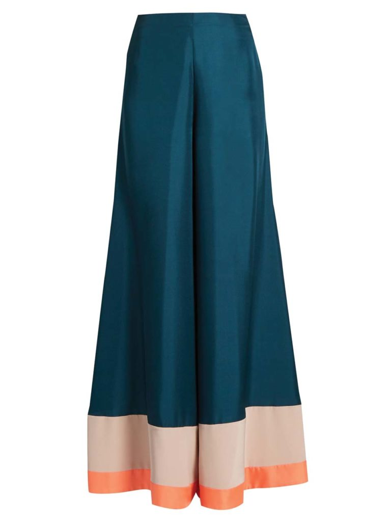 Roksanda Oldridge wide-leg Satin-twill Trousers_1