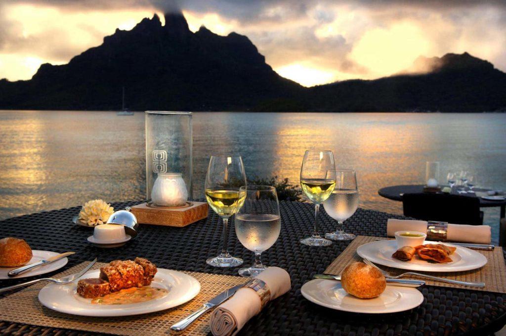 The Lagoon Restaurant at the St Regis Resort