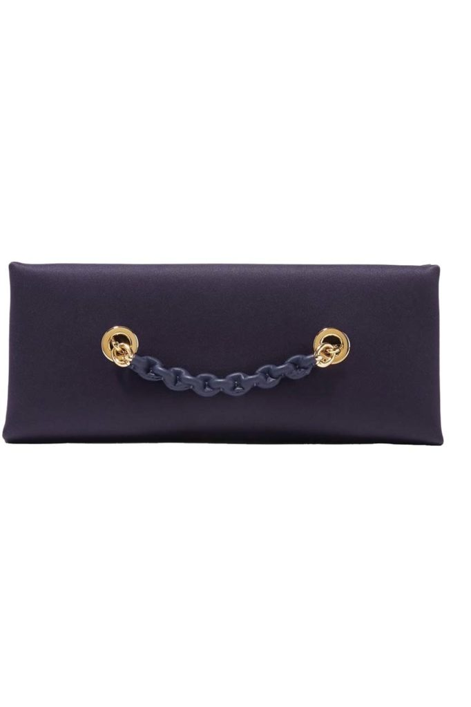 Tom Ford Leather-trimmed Satin Clutch_1
