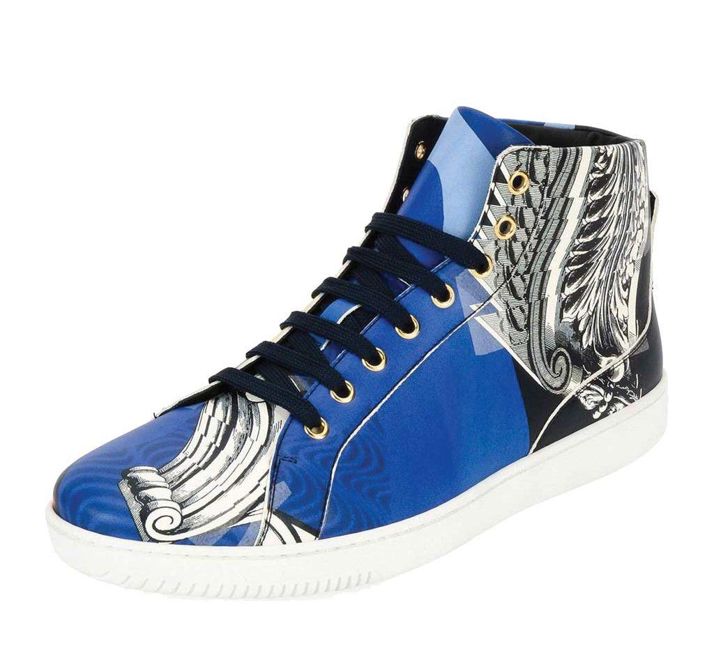 Versace Baroque Collage High-Top Sneaker_1