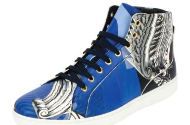 Versace Baroque Collage High-Top Sneaker_1