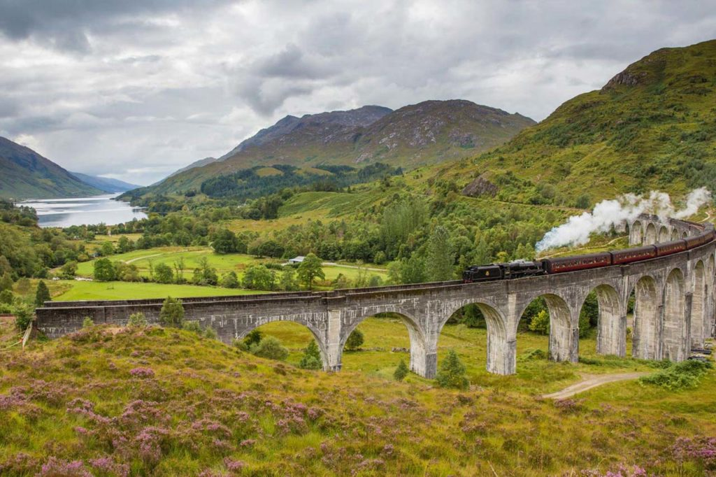 ATTRACTIONS-Glencoe_Glenfinnan Viaduct—Northern Highlands