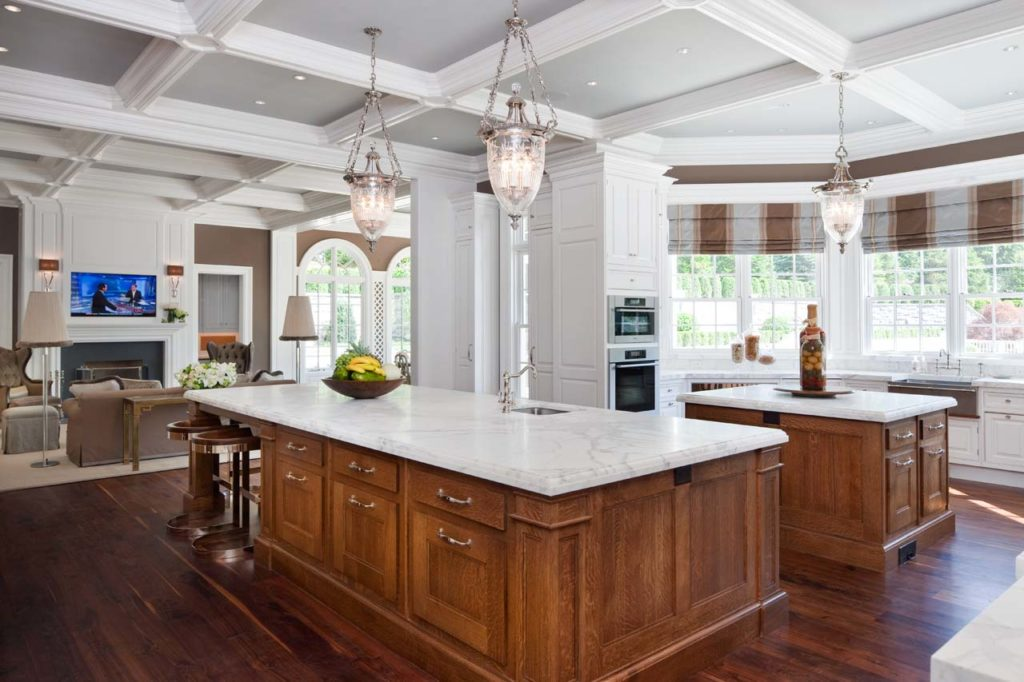 Christopher Peacock-designed Kitchen & Second Living Area