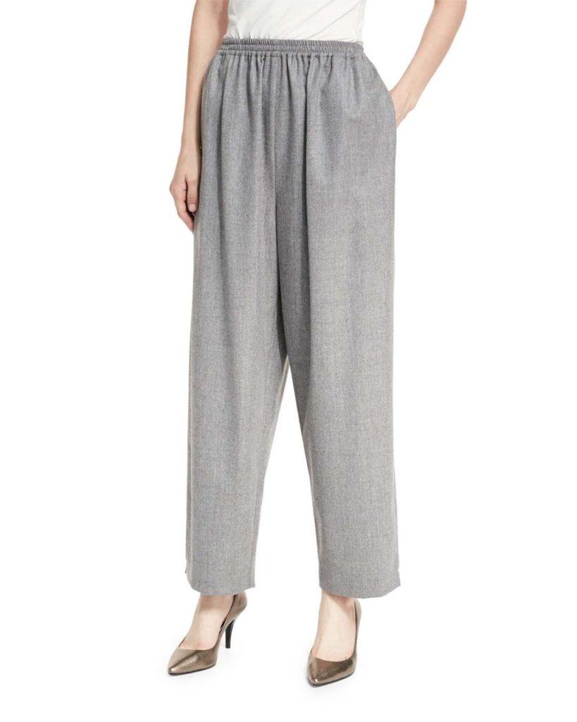 Eskandar Wool Japanese Trousers
