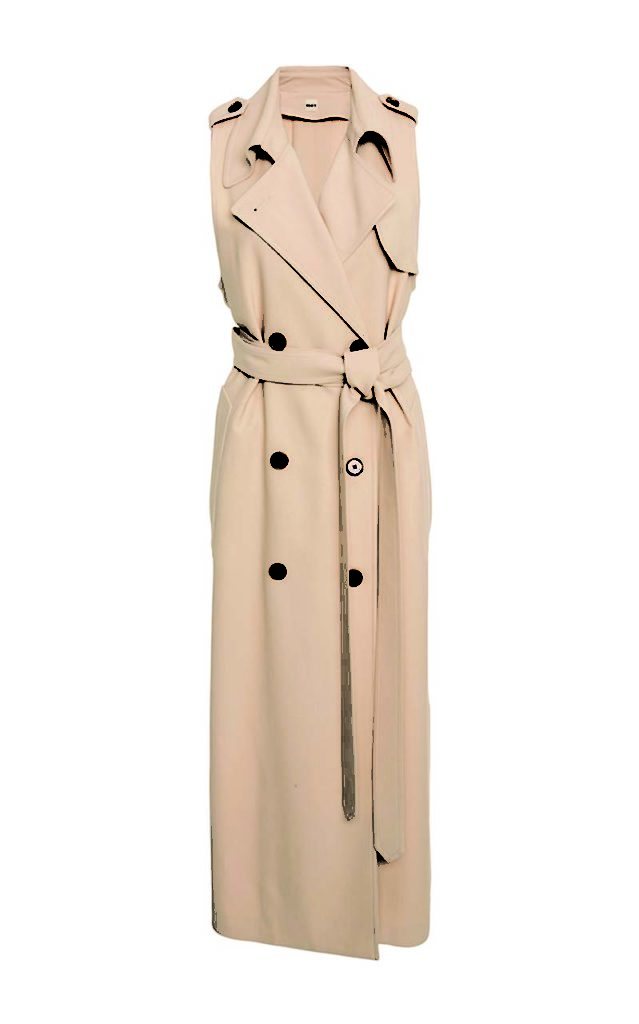 Khaite Donna Trench Wrap Dress_1