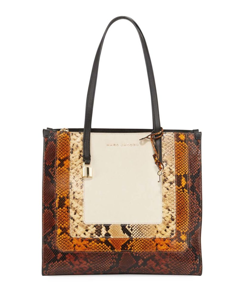 Marc Jacobs The Snaked Grind EW Shopper Bag