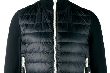 Moncler Down-Filled Jersey Jacket