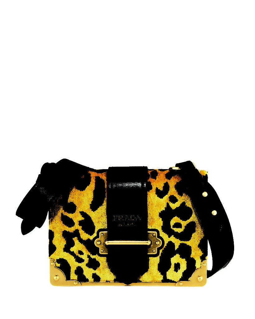 Prada Cahier Small Velvet Shoulder Bag_1
