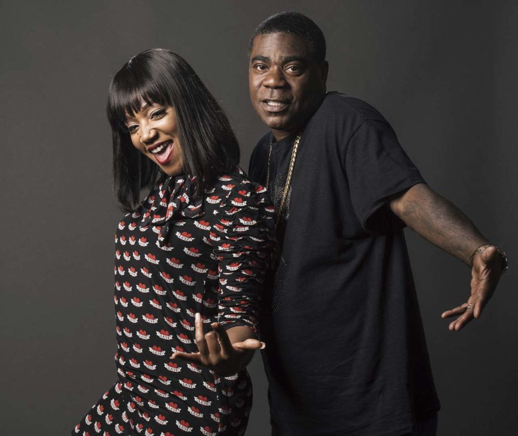 Tiffany Haddish,Tracy Morgan
