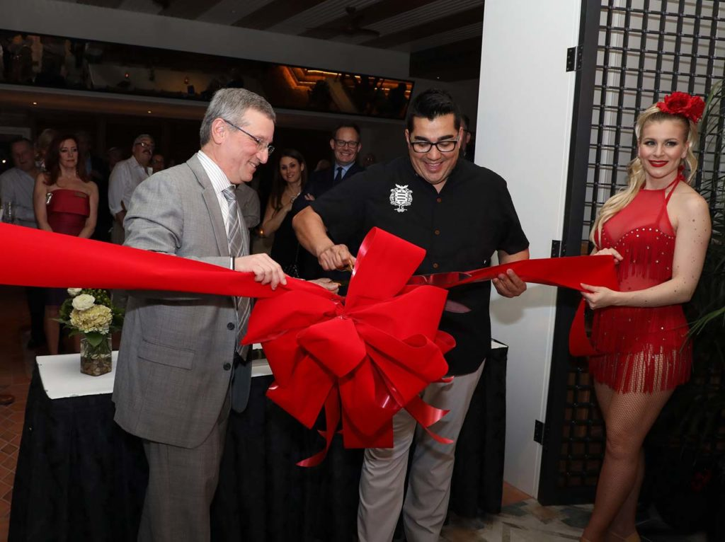Tropicana Garces Ribbon Cutting TB