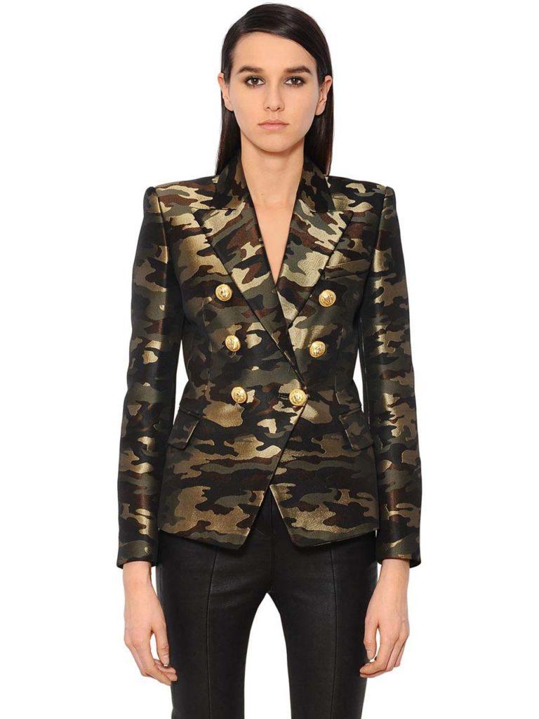 Balmain Camouflage Blazer