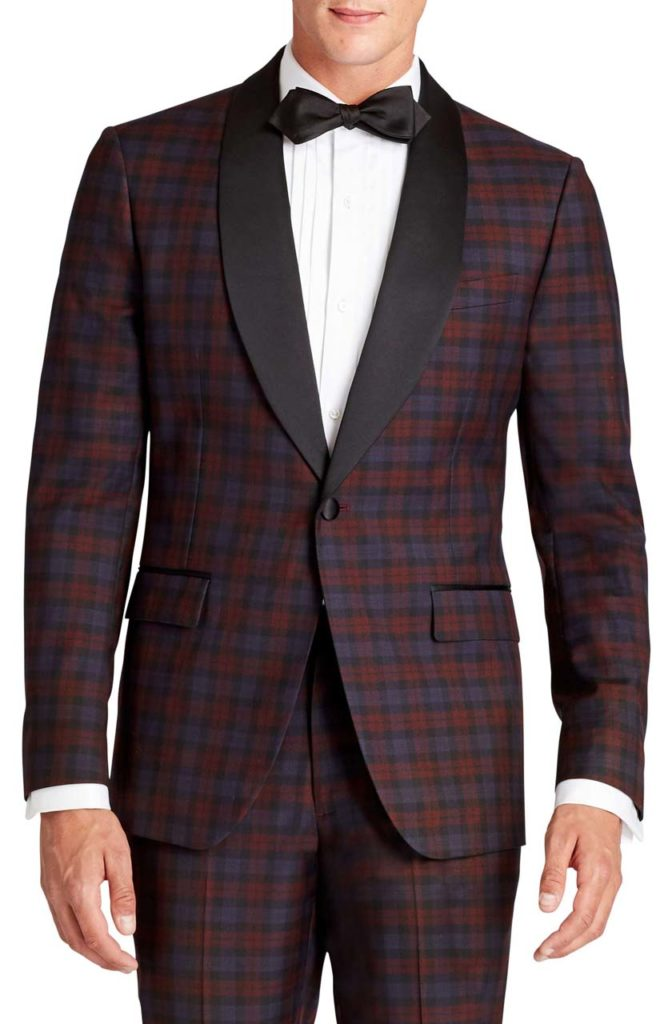 Bonobos JetSetter Plaid Wool