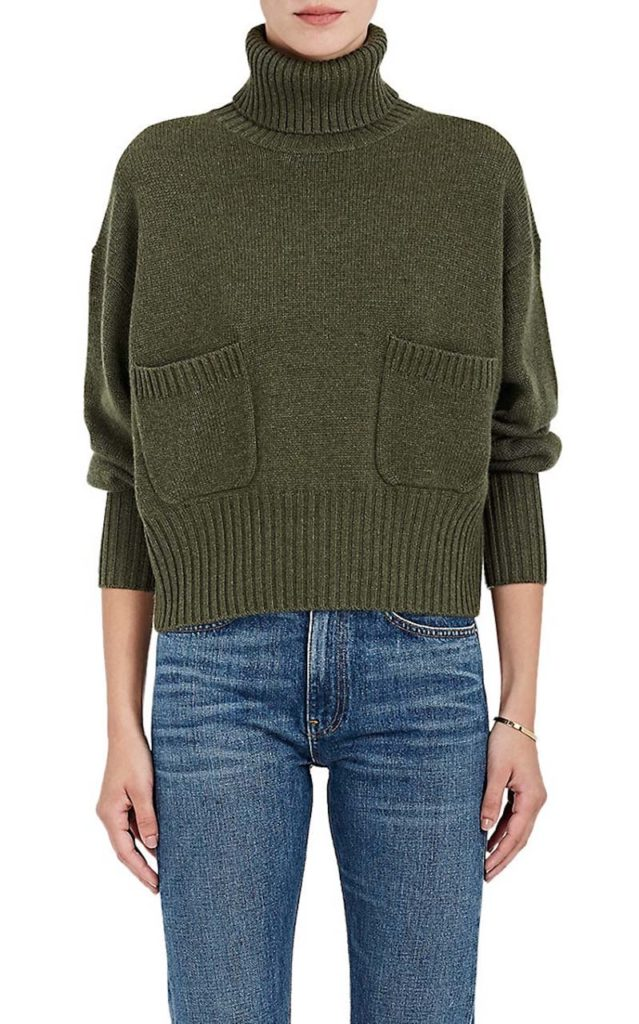 Chloé Pocket Cashmere Sweater