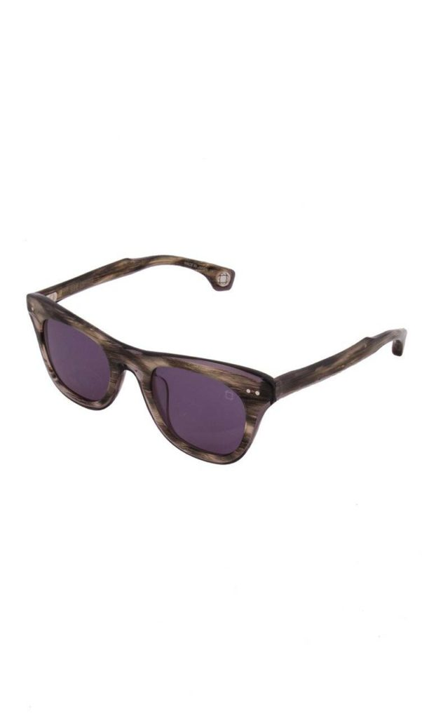 EyeDesign Blake Kuwahara Gwynn Sunglasses In Grey Horn