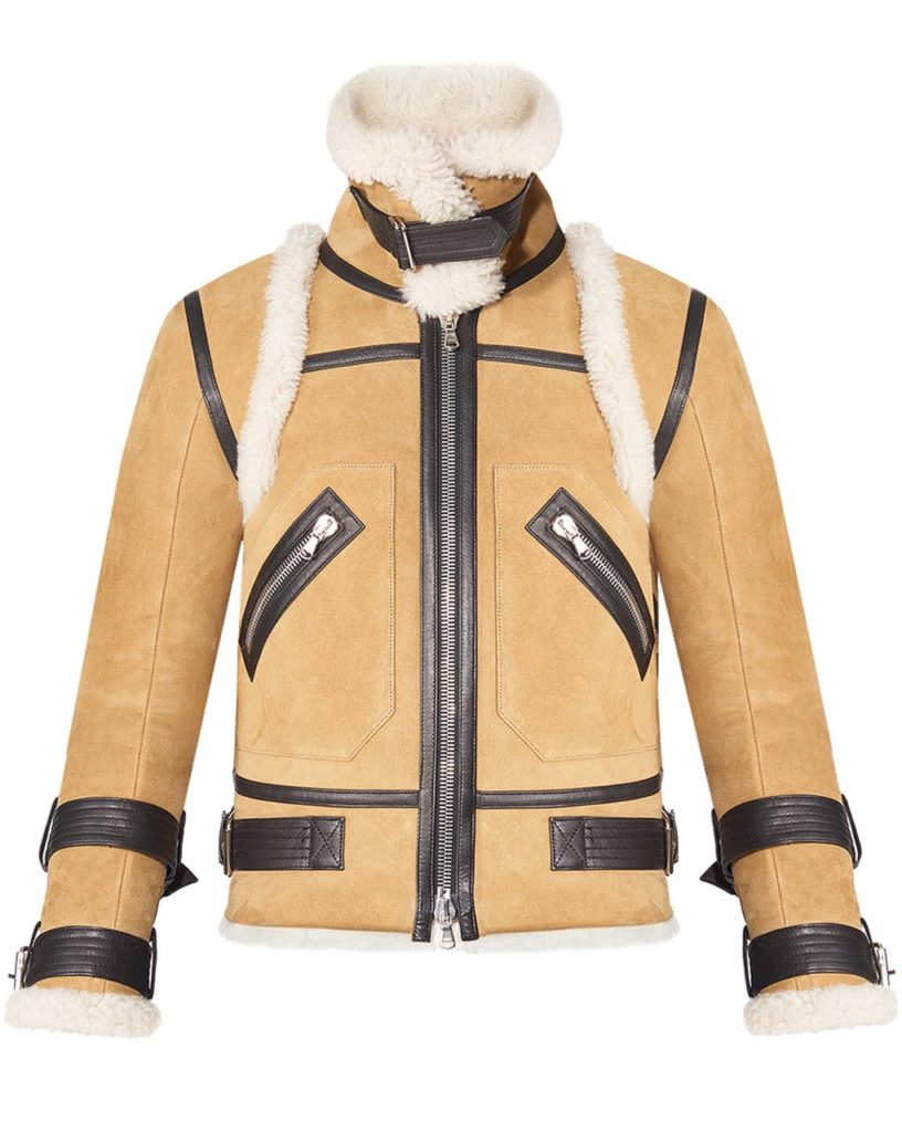 Garmany Veronica Beard Windsor Shearling Jacket