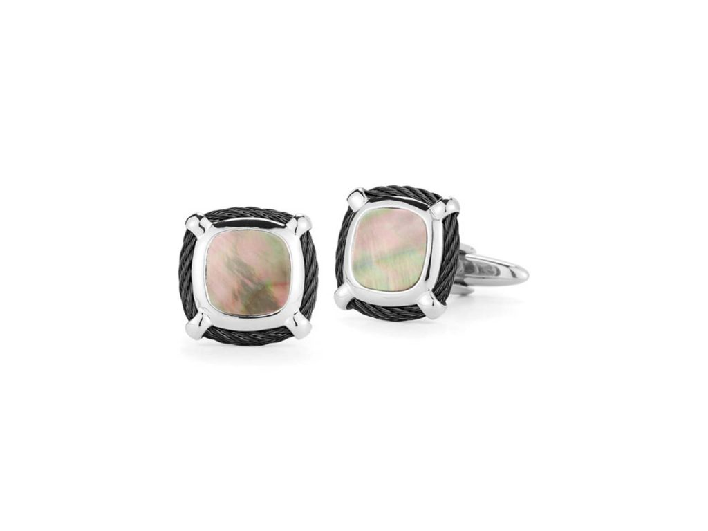 Neves Jewelers Alor Gentlemen_s Cuff Links