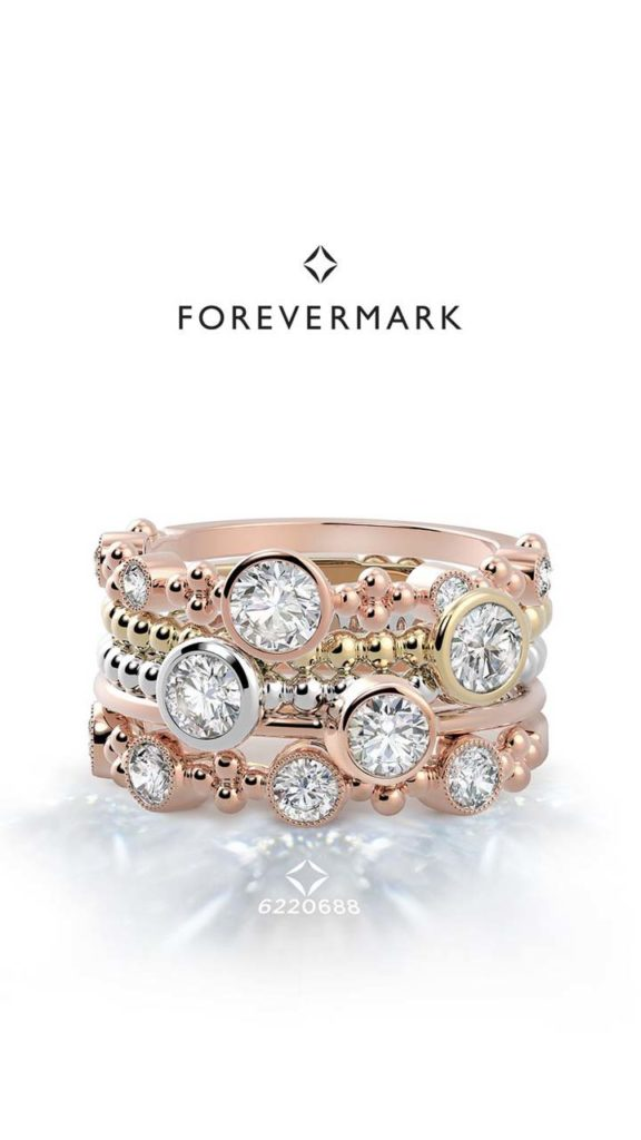 Neves Jewelers Forever Mark The Tribute Collection Rings