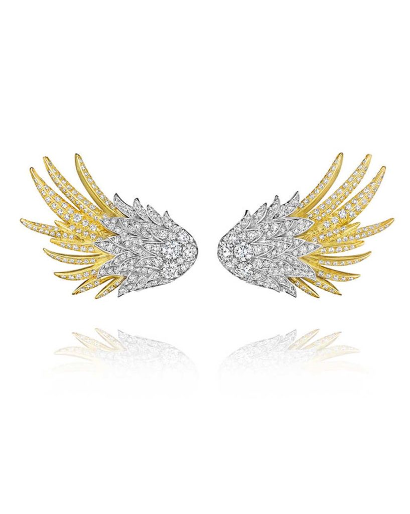 Neves Jewelers Forevermark Wing Earrings