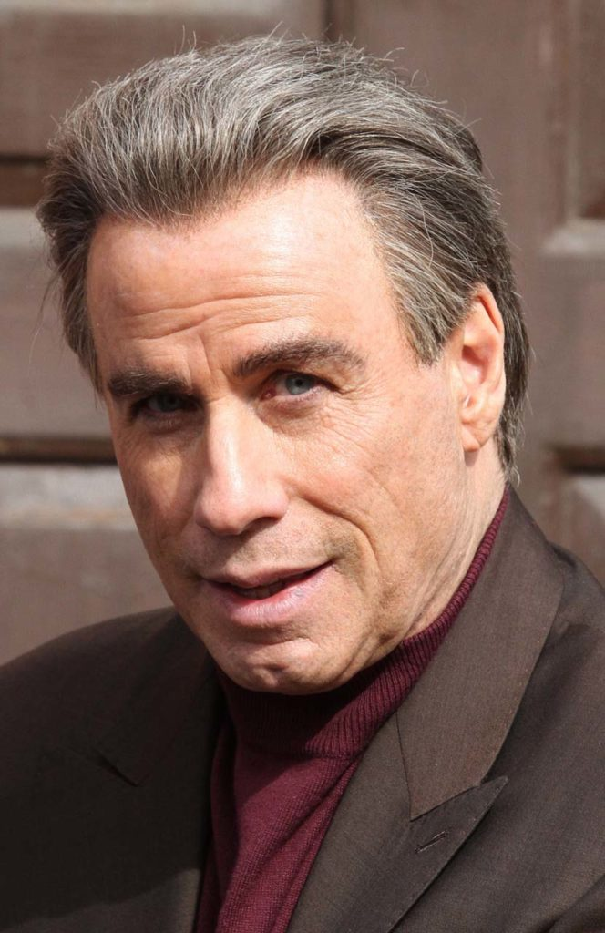 John Travolta On The Set Of 'The Life & Death Of John Gotti'