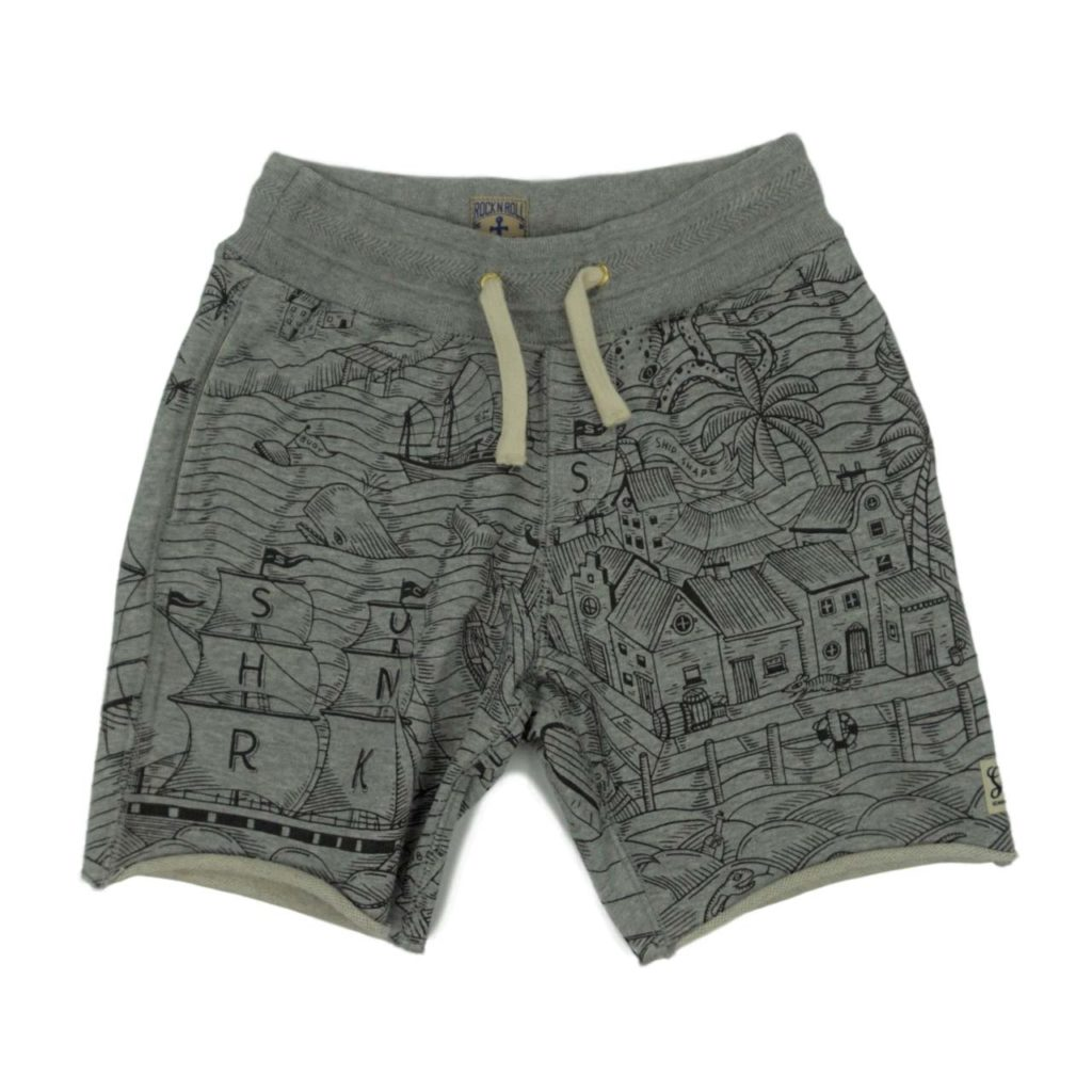 Scotch Shrunk Print Short