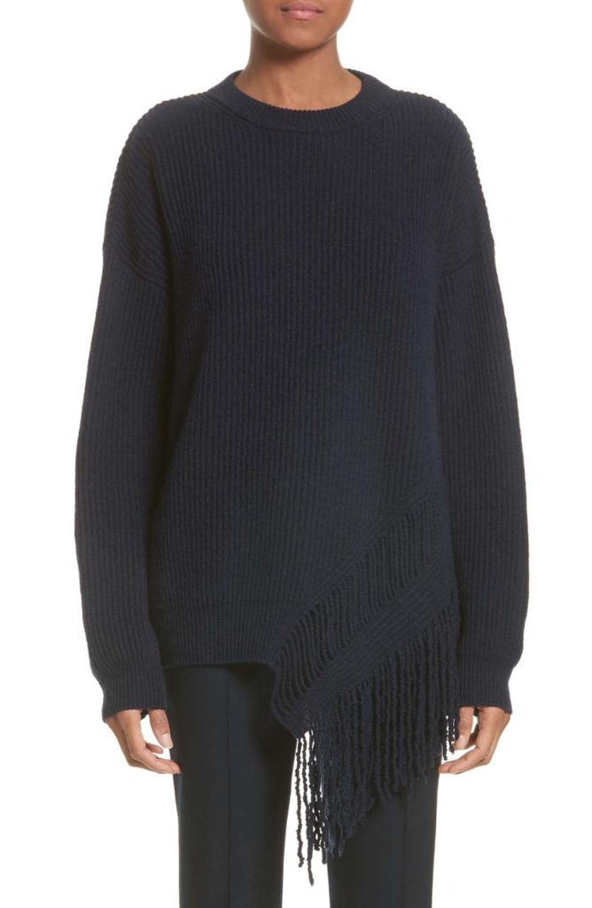 Stella McCartney Cashmere & Wool Fringe Sweater